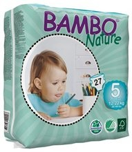 Bambo Nature Junior 15-25kg (270szt.)