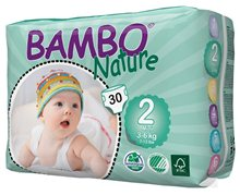 Bambo Nature Mini 3-6kg (300szt.)